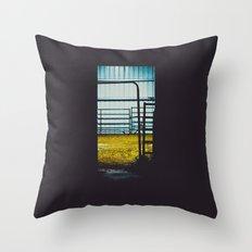 The Farmer's Sanctuary Throw Pillow