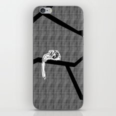 cracked plaid iPhone & iPod Skin