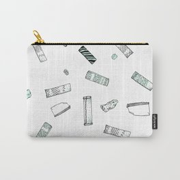 Gum Pattern Carry-All Pouch