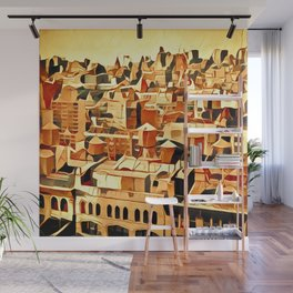City by Jean-François Dupuis Wall Mural