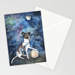 Our hero, Laika Stationery Cards