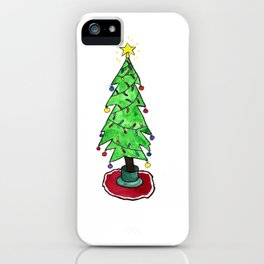Holiday Christmas Tree iPhone Case