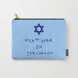 Next year in Jerusalem 8 Carry-All Pouch