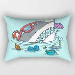 Beach Party Shark Rectangular Pillow