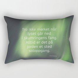 God morgen, far og mor Rectangular Pillow