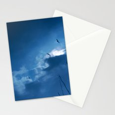 float with the tide Stationery Cards