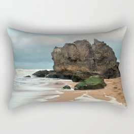 Tide on the Beach Rectangular Pillow