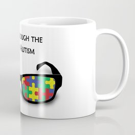 Look through the eyes of Autism Coffee Mug
