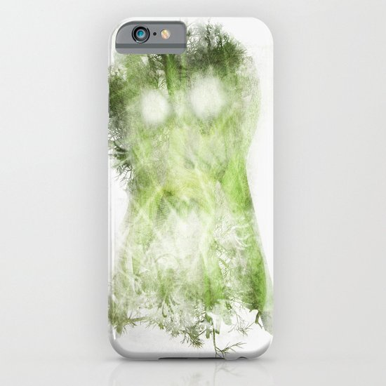phantom vegetable iPhone & iPod Case