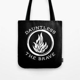 Divergent -  Dauntless The Brave Tote Bag