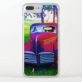 Cruise Night - Entry 3 Clear iPhone Case