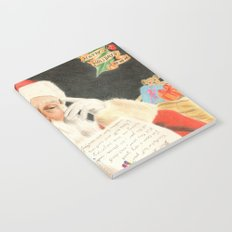 Letter to Santa Claus Notebook