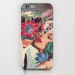 Passiflora *collage iPhone Case