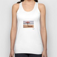bali Tank Tops featuring Bali America by 1thousandwords