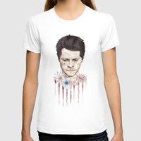 castiel T-shirts featuring Castiel by mycolour