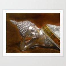 Buddha 77 CB Art Print