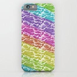 Rainbow Camo iPhone Case