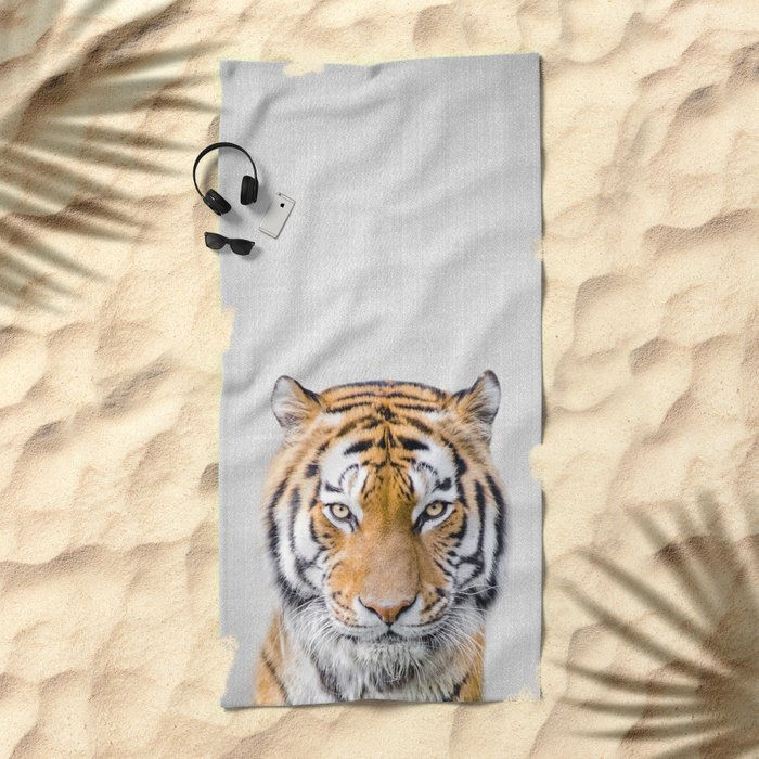 Tiger - Colorful Beach Towel