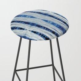 Nori Blue Bar Stool