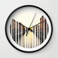 milan Wall Clocks featuring MILAN by Daniel Rey