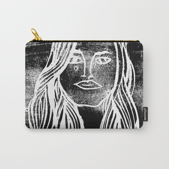 untitled girl Carry-All Pouch