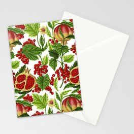 Poster Background | Pattern Designs Fruit Stationery Cards