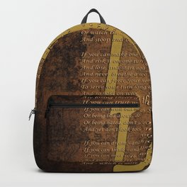 Vintage Poem 3 Backpack
