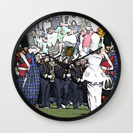 And now taking the field... Wall Clock