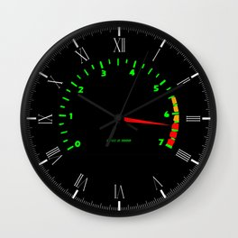 RPM Wall Clock