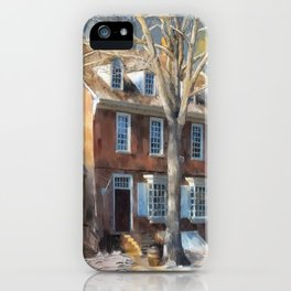 As Winter Melts Into Spring iPhone Case