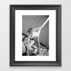 The World On A Ribbon Framed Art Print