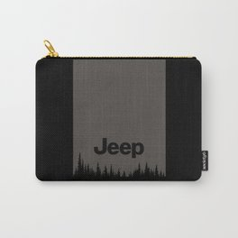 Jeep 'Forest' WOOD Carry-All Pouch