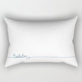Lake Balaton 2 by DR  Rectangular Pillow
