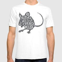 Hung Like A Church Mouse T-shirt