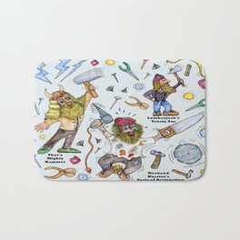 Men of Tools Bath Mat