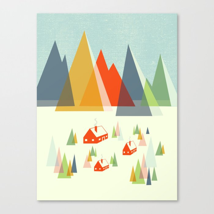 The Foothills Canvas Print