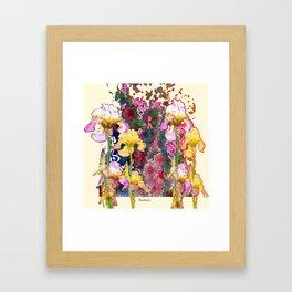 Decorative Yellow & Pink Spring Framed Art Print