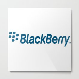 Blackberry BB Samsung ZTE Huawei Nokia Ericsson Metal Print