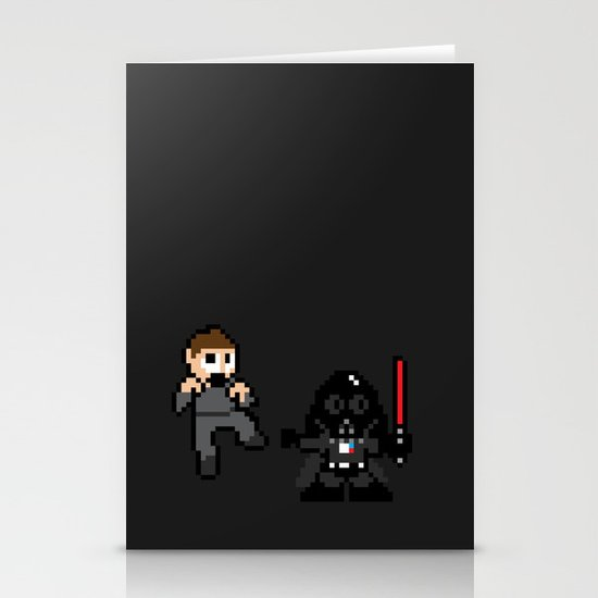 Pixel Wars Stationery Cards