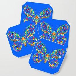 Dot pattern butterfly Coaster
