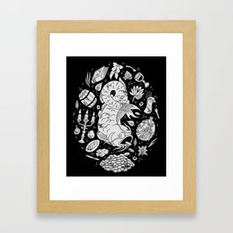 Mad Love Framed Art Print