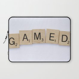 GAMED - Letters Laptop Sleeve