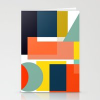 geo Stationery Cards featuring Geo by Mr and Mrs Quirynen