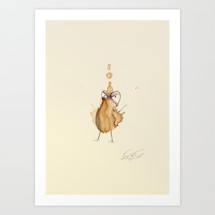 #coffeemonsters 19 Art Print