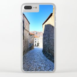 Streets of Vila Nova de Gaia Clear iPhone Case