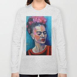 Je te ciel, hommage à Frida Kalos Long Sleeve T-shirt