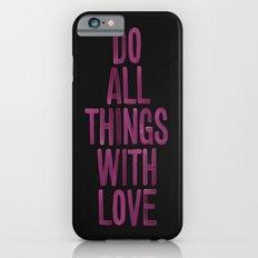 PINK Quote iPhone 6s Slim Case