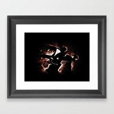 MOMENTOdue Framed Art Print
