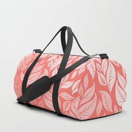 LIVING CORAL LEAVES 2 Duffle Bag