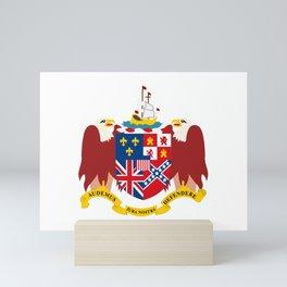 Coat of arms of Alabama Mini Art Print